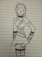 Steampunk outfit by Unknowndemon626
