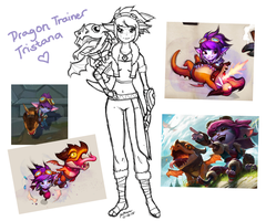 Dragon Trainer Tristana by kitzc