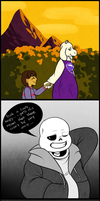 Untitled [Minor Undertale Spoilers] by KajualE