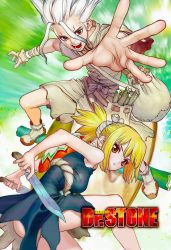Dr. Stone 17 Color Cleaning Written by Ulquiorra90