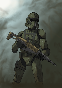 Swamp Trooper CT 6231 Abel by Alpha-Trooper