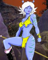 Thrala on the Savage Planet by Inspector97