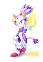 Blaze The Cat by Definisher