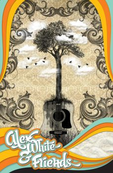 Alex White and Friends Poster by Jarosz