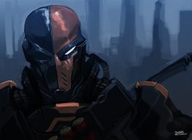 Deathstroke by BLNK100