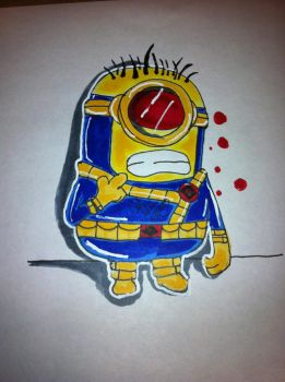 Cyclops Minion by SketchinWithCedTatau