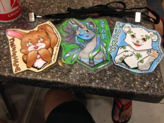 Badge: Lucky and Jessica by LegacyZeta