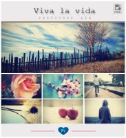 Viva la vida - Photoshop ATN by friabrisa
