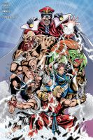 Street Fighter (color) by johncastelhano