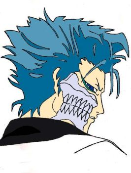 grimmjow. color by wintherqueen