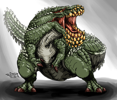 Monster Hunter - Deviljho by ABSOLUTEWEAPON