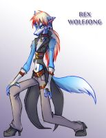 Rex Wolfsong Commission by Dreamkeepers