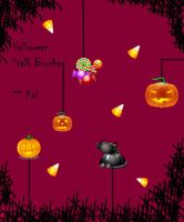 Halloween Stalk Brushes by KaiPrincess