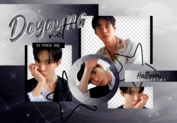 PNG PACK: Doyoung #1 by Hallyumi