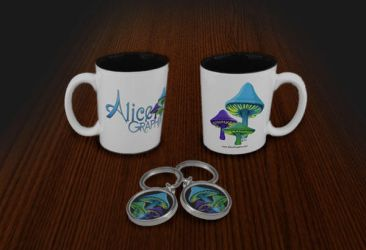 Alice Graphix New Promo Items by AliceGraphix