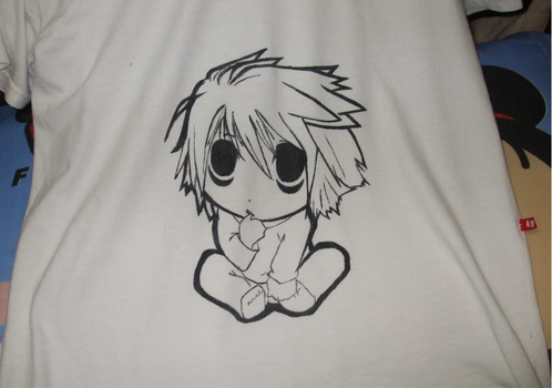 Camisa de L, Death Note by zumbibs
