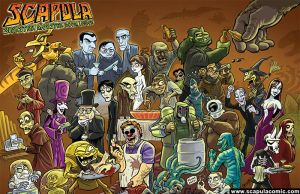 Scapula - Monsters Party by DadaHyena