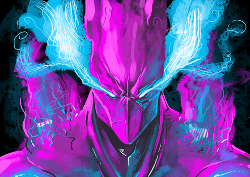 Broken the colours of power by brokencreation