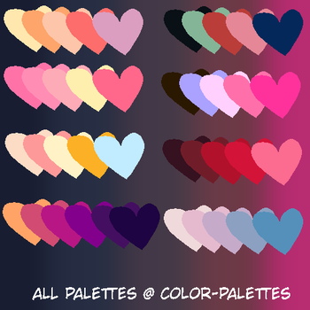 color palettes!! by ThePlungeTakers