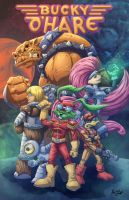 Bucky O'hare by Kyle-Fast