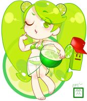 Cookie Run: Lime Cookie by YuuAbyss