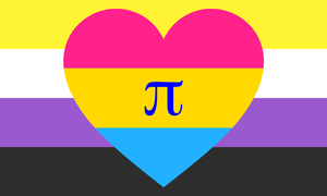 Nonbinary Pan Polyamorous Combo by Pride-Flags