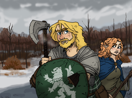 Bjorn and Feswen by Shabazik