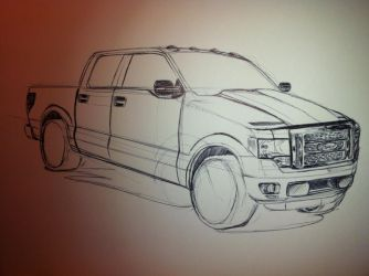 F-150 near end by FlashhhThunderrr