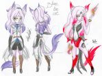 Reference: Blaze the cat by ShawtyWhiite
