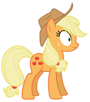 Vector: Applejack 69 by EStories