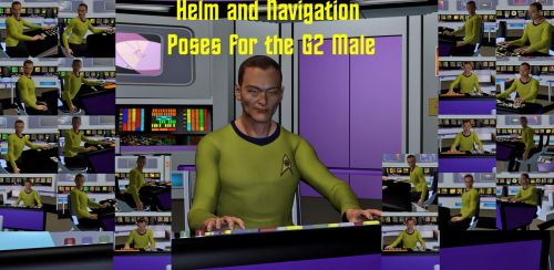Navigation and Helm Poses for G2M by ssgbryan