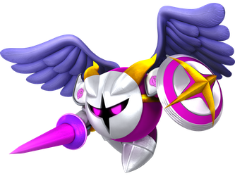 Smash 4 Galacta Knight Render (2018) by JoeTEStrikesBack