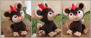 Litleo - Handmade plush with sound by Piquipauparro