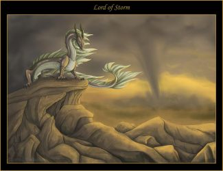 Lord of storm by mythori