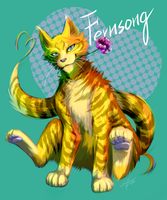 Warriors: Fernsong by Marshcold