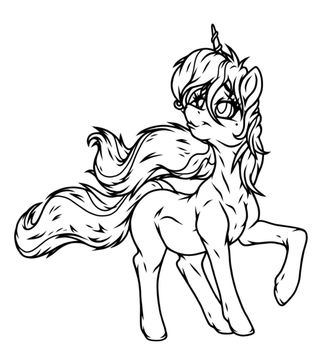 Pony Dreams - (Sketch/WIP) by theHyenasSBE