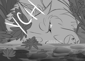 Pond YCH (CLOSED) by BeastyBby