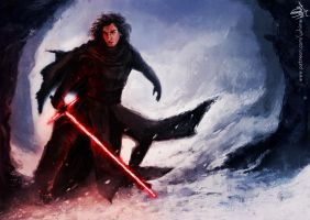 Kylo Ren by yuhime