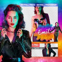 PNG PACK (101) Emilia Clarke by iliveforApplause