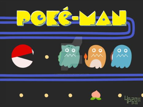 POKE-MAN by TheBourgyman