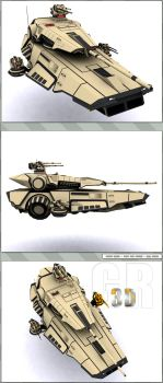 Hover Tank Composition 2 by WARxSnake