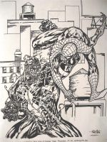 Spidey v. Venom Guile Pencils by FanBoy67