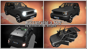[MMD] BF3 SUV for MMD (PMX Download) by Riveda1972