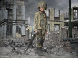 Child Soldier by ThierryCravatte