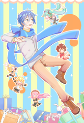 Happy Birthday Kaito!! by Hinna-chan