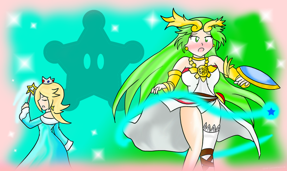 Goddess Rivalry: Gravitational Pull! by Xero-J