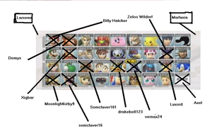 brawl fanfic roster updates by drakebell123