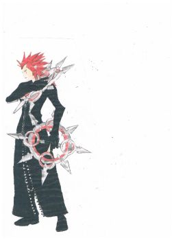 Axel request by RikkuFang