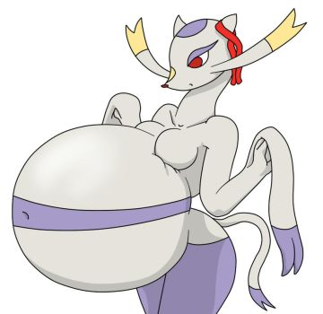 Mienshao Girl pregnant Expansion by WeaselcakeFreak6