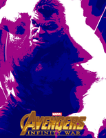 August Avengers #19.8 - Infinity War (2018) by JMK-Prime